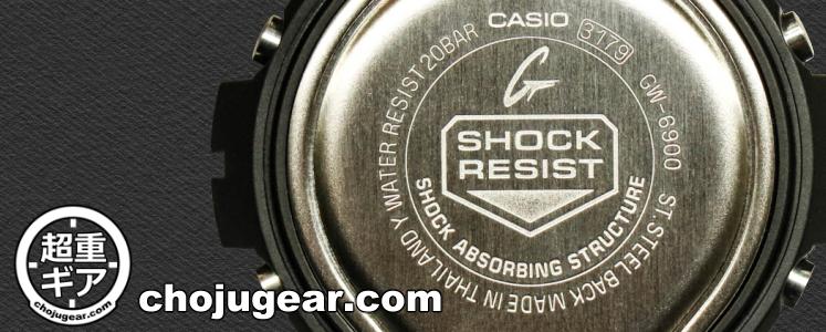 SHOCK RESIST 耐衝撃機能